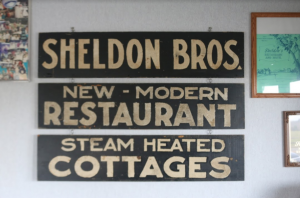 When Sheldon's first opened, they only offered eight steam-heated cottages. Today, the business offers 40 hotel rooms. Photo by Anna Bultrowicz